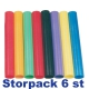 Stafettpinne i plast, storpack 6 st